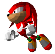 Sonic the Fighters - Knuckles 03