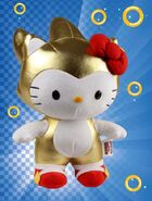Toynami SxS Gold Sonic x Hello Kitty 10 inch plush