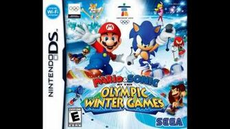 Mario and Sonic at the Olympic Winter Games DS Sparkleton