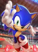 Olympics 2020 Sonic