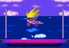 Sonic3 MD Bug EndingUnderwater