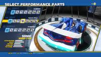 Sonic Dynamic Wings Rear