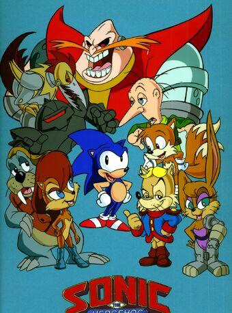 Sonic The Hedgehog Tv Series Sonic News Network Fandom