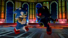 Lego Sonic vs Metal