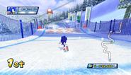 Mario Sonic Olympic Winter Games Gameplay 048