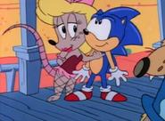Miss Possum and Sonic