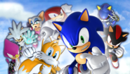 Sonic Rivals 2 UMD Background
