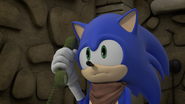 Sonic on the phone