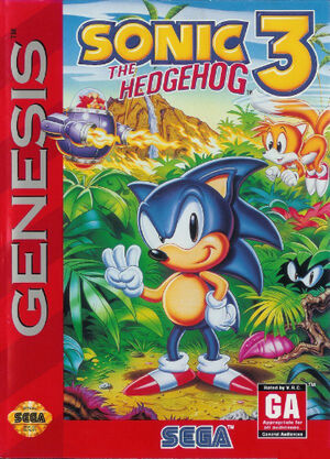 Sonic the Hedgehog 3 cover