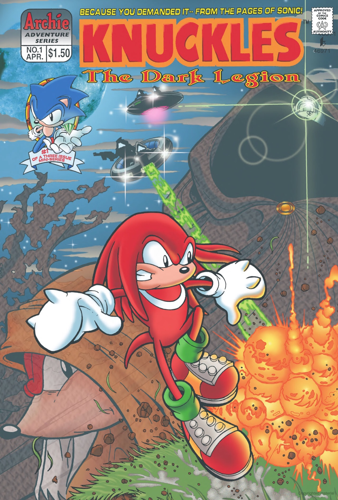 Image result for knuckles comic series