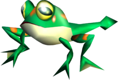 Froggy-model-render---sonic-adventure
