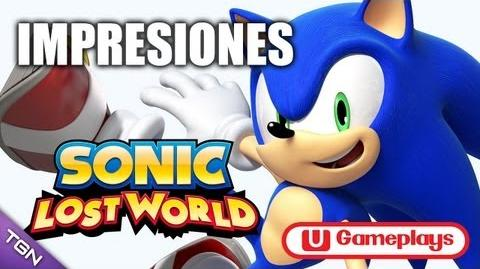 Shadowunleashed13/Sonic Lost World leaked in Spain