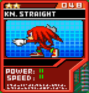 Knuckles Straight