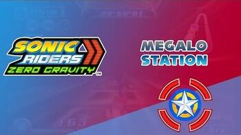 Megalo Station - Sonic Riders Zero Gravity