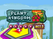 Plant Kingdom Act 2 Blaze title card