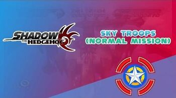 Sky Troops (Normal Mission) - Shadow the Hedgehog