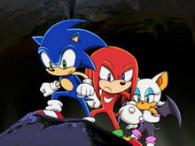 Sonic Knuckles i Rouge underground ep 48