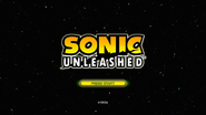 Sonic Unleashed title screen