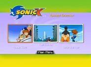 Sonic X Volume 7 AUS episode select