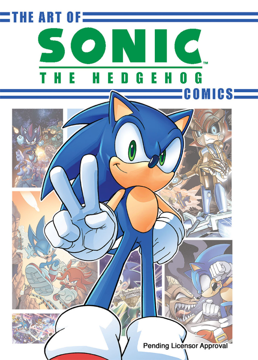 The Art of the Sonic the Hedgehog Comics   Sonic News Network