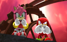 Amy i Knuckles SG