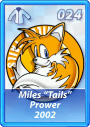 Card 024 (Sonic Rivals)