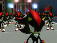 Lots of Shadow Androids