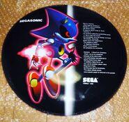 Metal Sonic Wall Plaque