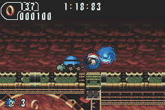 Sonic Advance 2 Homing Attack