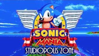 Sonic Mania Soundtrack - Studiopolis Zone