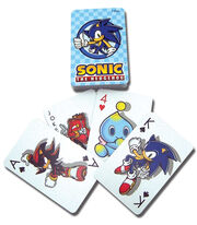Sonic Playing Cards (Game set)