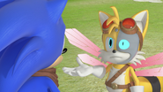Sonic and Beebot Tails