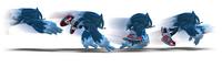 Werehog dashing