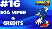 Sonic Adventure DX (XBLA) Walkthrough - -Part 16 - Sonic's Story- - Egg Viper & Credits