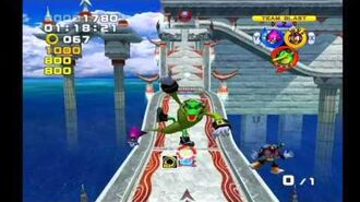 Sonic Heroes- Ocean Palace (Team Chaotix)