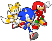 Sonic Runners Team Heroes