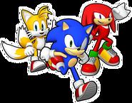Sonic Runners Team Heroes