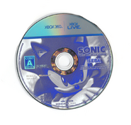 Sonic The Hedgehog (2006) - Disc - JP