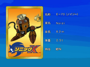 Sonic X karta 22