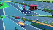 Mario & Sonic at the Rio 2016 Olympic Games - Espio VS Princess Peach Triple Jump