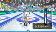 Mario Sonic Olympic Winter Games Gameplay 116