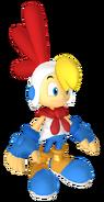 SASASR Character Model Billy