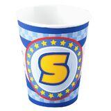 Sonic 'S' Emblem Cups