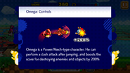 Sonic Runners Omega Controls
