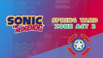 Spring Yard Zone Act 2 - Sonic the Hedgehog