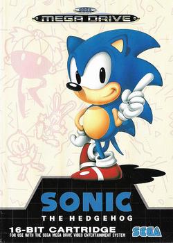 Carátula Sonic 1 (PAL)