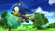 Classic Sonic Air Boost