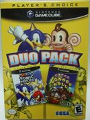 Duo Pack Sonic Heroes Super Monkey Ball