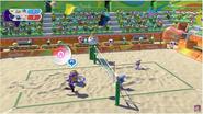 Mario&Sonic Rio 2016 - Beach Volleyball Team Wario VS Team Metal Sonic
