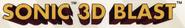 Sonic 3D Blast - logo alt